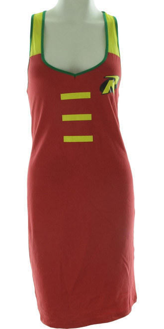 Robin Costume Mesh Strap Tank Top Dress