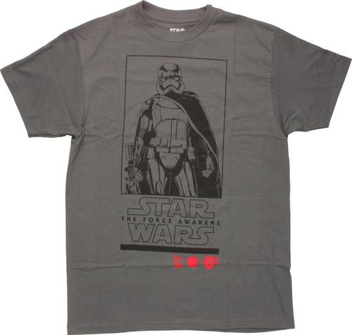 Star Wars Force Awakens Trooper Box T-Shirt