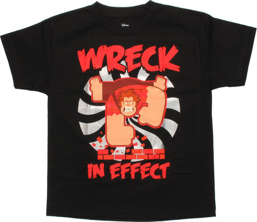 Wreck-It Ralph Wreck in Effect Foil Youth T-Shirt