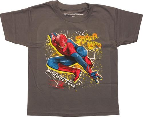 Amazing Spiderman Spider Hero Juvenile T-Shirt
