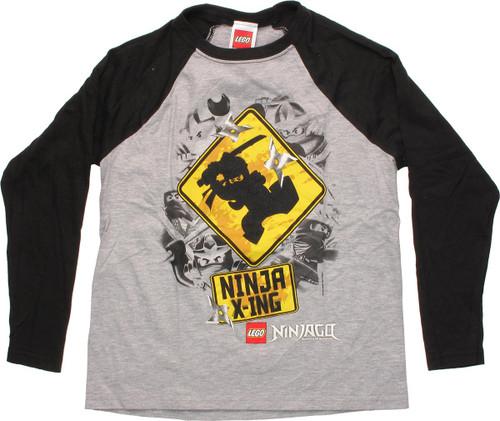 Lego Ninjago Ninja X-ing Raglan Juvenile T-Shirt