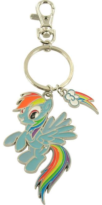 My Little Pony Rainbow Dash Charms Keychain
