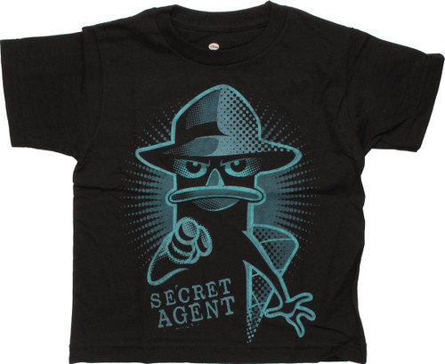 Phineas and Ferb Secret Agent Juvenile T-Shirt