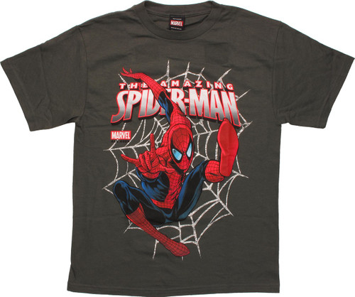 Spiderman Gonna Web Youth T Shirt