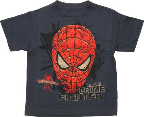 Spiderman Little Crime Fighter Juvenile T-Shirt