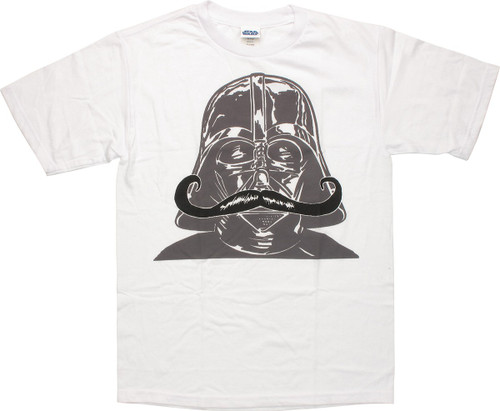 Star Wars Vader Mustache Blend Youth T Shirt