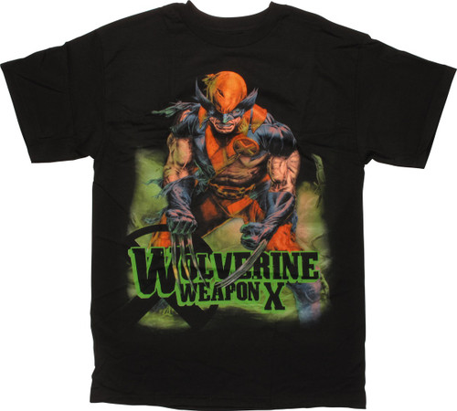 X-Men Wolverine Weapon X T-Shirt