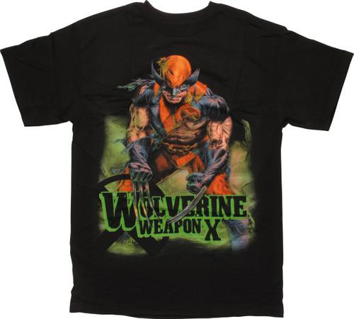 X-Men Wolverine Weapon X T-Shirt