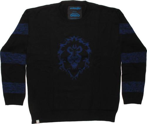 World of Warcraft Alliance Striped MF Sweater