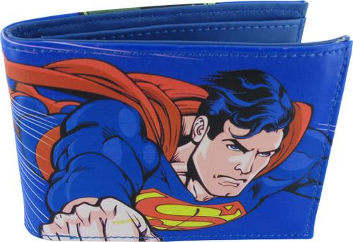 Superman Lex Luthor Comic Bifold Wallet