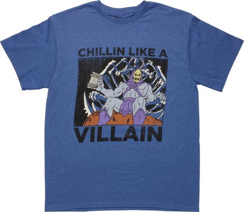 He Man Skeletor Chillin Heather T-Shirt