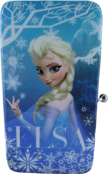 Frozen Elsa Snowflakes Clutch Wallet