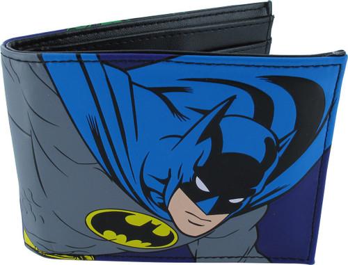 Batman Joker Comic Bifold Wallet