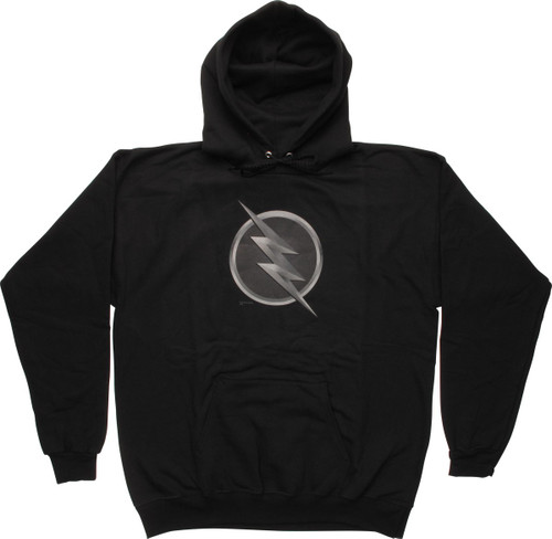 Flash TV Zoom Subtle Logo Pullover Hoodie