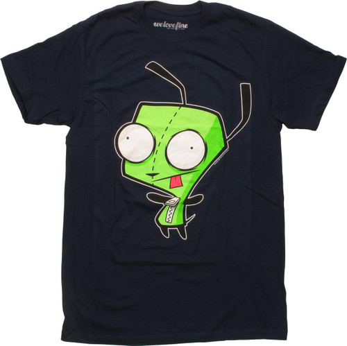 Invader Zim Dog Disguise Gir Mighty Fine T-Shirt