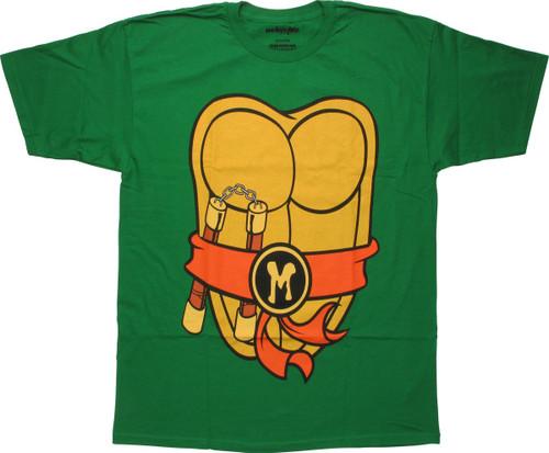 Ninja Turtles Michelangelo Costume MF T-Shirt