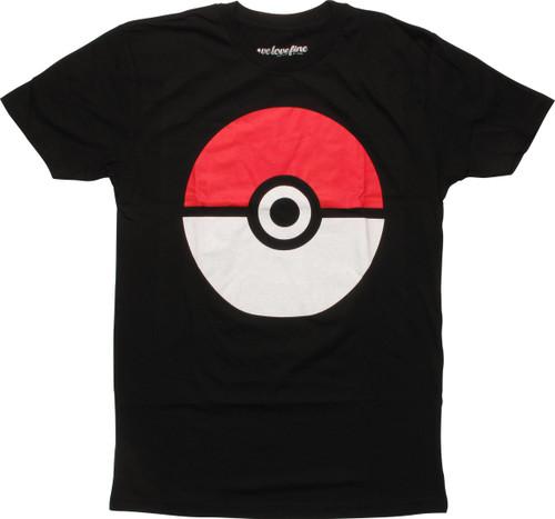 Pokemon Big Poke Ball Mighty Fine T-Shirt