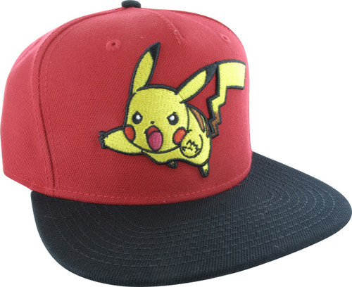 Pokemon Pikachu Attack Snapback Hat