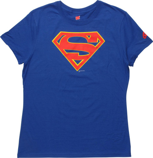 Supergirl TV Logo Ladies T-Shirt