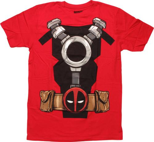 Deadpool Utility Belt Costume T-Shirt