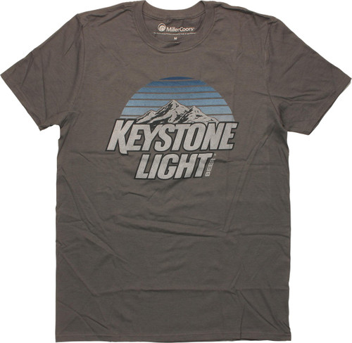 Keystone Light Beer Mountains T-Shirt