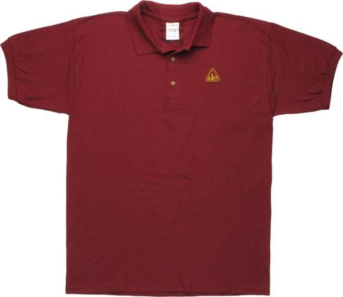 Star Trek Starfleet Academy Logo Polo Shirt