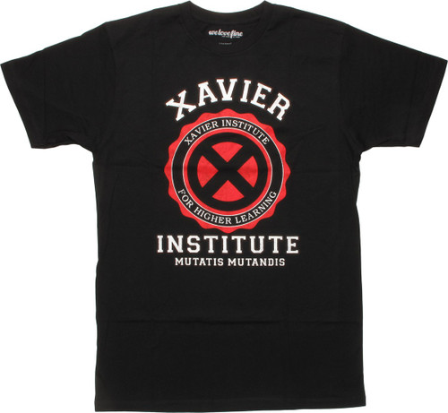 X Men Xavier Institute Mutatis Mutandis MF T-Shirt