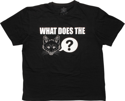 What Does The Fox Say Tall T-Shirt