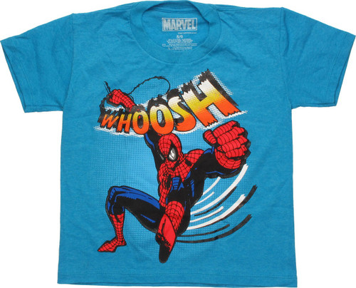 Spiderman Whoosh Swinging Juvenile T-Shirt