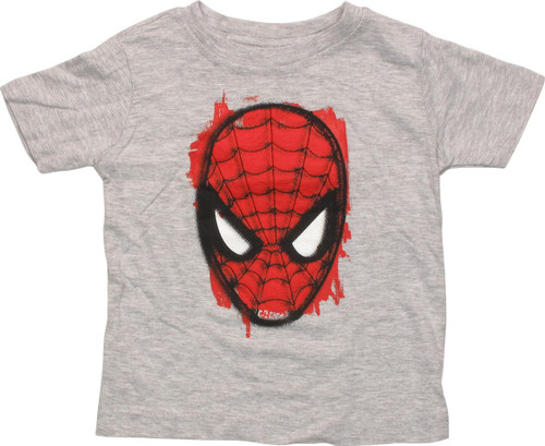 Spiderman Painted Red Mask Infant T-Shirt