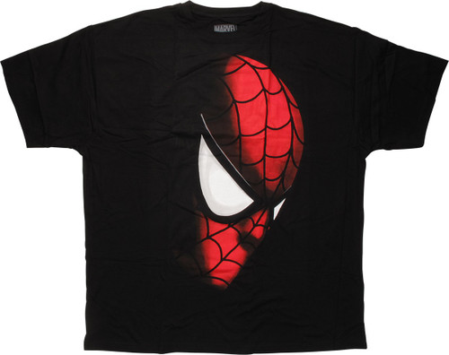 Spiderman Face Out of Shadow T-Shirt