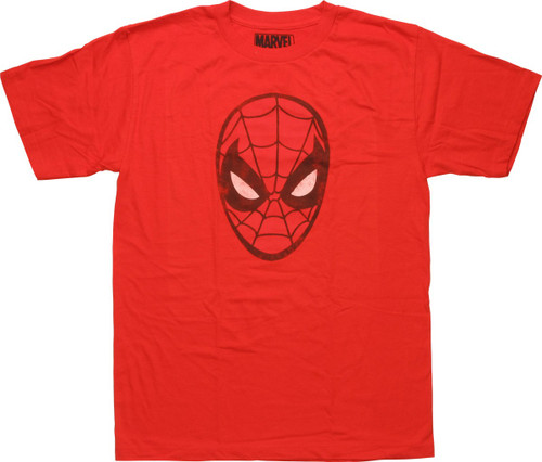 Spiderman Classic Mask Youth T-Shirt