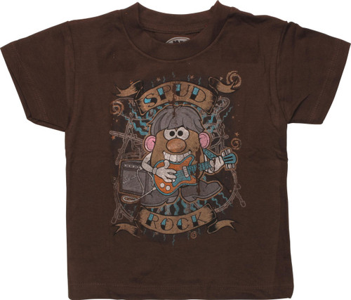 Mr Potato Head Spud Rock Distress Toddler T-Shirt