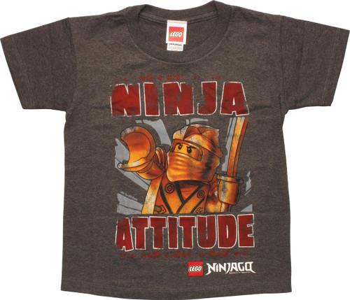 Lego Ninjago Ninja Attitude Juvenile T-Shirt