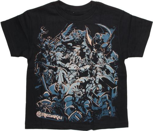 Redakai Conquer the Kairu Characters Youth T-Shirt
