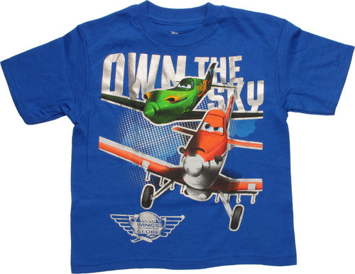 Wings Youth The Sky Own T Planes Globe Shirt 7ybf6YgIv