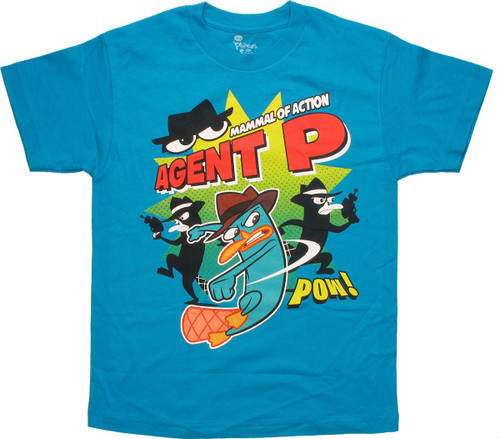 Phineas and Ferb Mammal of Action Youth T-Shirt