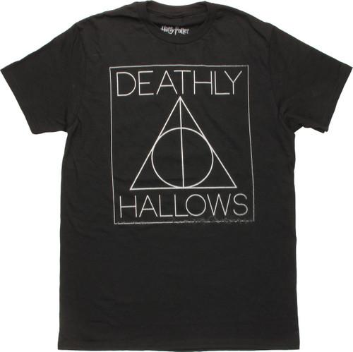 Harry Potter Deathly Hallows Symbol T-Shirt