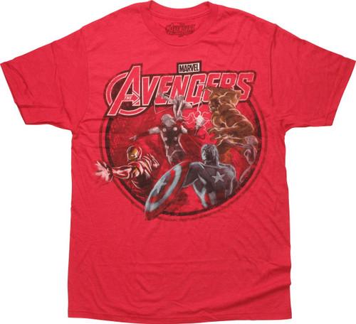 Avengers Powers Ready T-Shirt Sheer