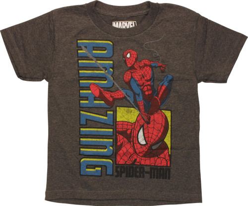 Amazing Spiderman in Action Juvenile T-Shirt