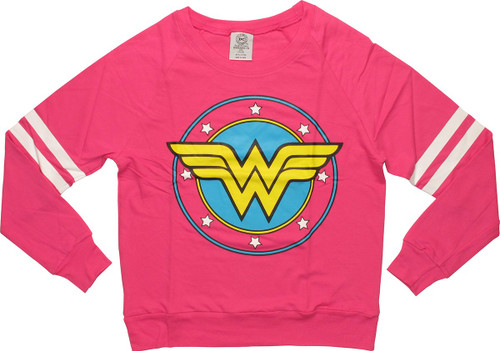 Wonder Woman Logo Lightweight Junior Sweatshirt