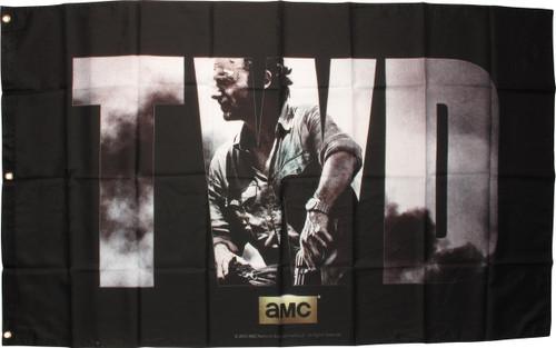 Walking Dead TWD Rick Grimes Banner Flag