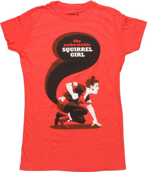 Unbeatable Squirrel Girl 5 Cho Juniors T-Shirt