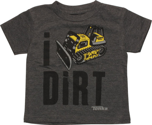 Tonka Bulldozer I Dig Dirt Toddler T-Shirt