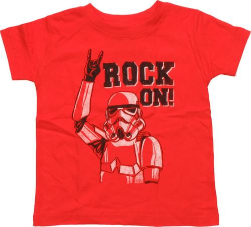 Star Wars Stormtrooper Rock On Infant T-Shirt
