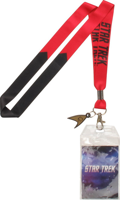 Star Trek TOS Red Engineer Charm Lanyard