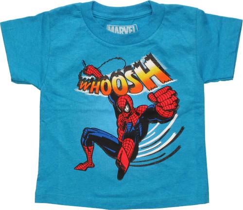 Spiderman Whoosh Swinging Toddler T-Shirt