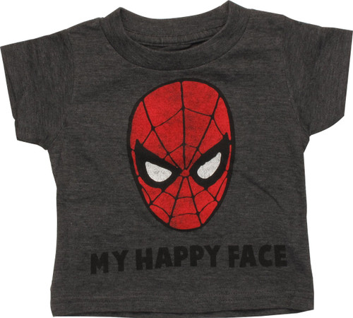 Spiderman My Happy Face Infant T-Shirt