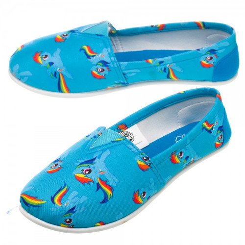 My Little Pony Rainbow Dash Slip On Shoe Slippers
