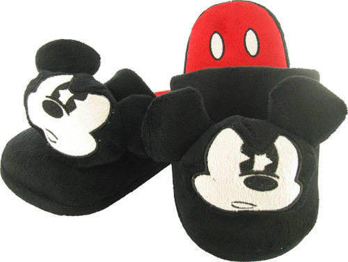 Mickey Mouse Head Slippers